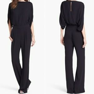 """DVF """"Lucy"""" Boatneck Jumpsuit"""
